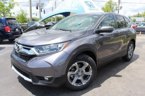 New 2018 Honda CR-V EX-L With Navigation