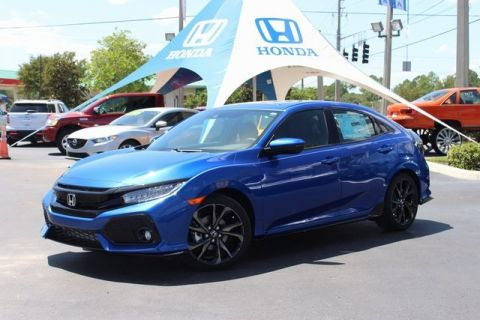 New 2017 Honda Civic Sport Touring With Navigation