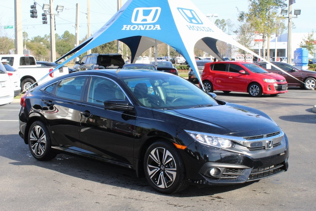 Certified Pre Owned 2017 Honda Civic Ex T