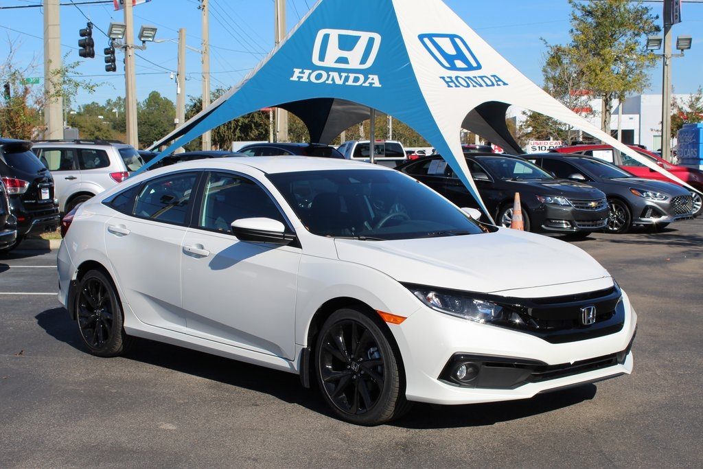 New 2019 Honda Civic Sport 4d Sedan In Gainesville H509127 Honda